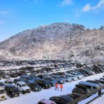 大山ホワイトリゾート駐車場満車時刻(大山スキー場駐車場)2月3連休