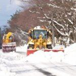 米子ICから赤いりぼんの前までの道はバッチリ除雪してあります。