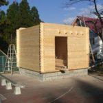ミニログを建てよう。其の参。壁造り。2014年11月25日の記事