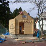 ミニログを建てよう。其の四。屋根造り。2014/11/30の記事。