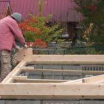 ミニログを建てよう。其の弐。基礎組から土台造り。2014/11/20の記事