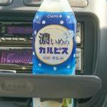 ギンギンに冷えた「濃いめのカルピス」は美味しい!