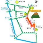 紅葉時期の大山環状道路「道路交通規制」2018年は(10/27)