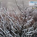 大山初雪!2018年