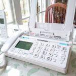 FAXが壊れた;修理するより買うほうが安い!パナソニックFAX KX-PD205DL-W