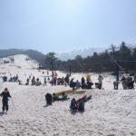 大山ホワイトリゾートの営業は3月10日まで
