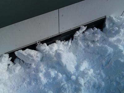 大雪の大山