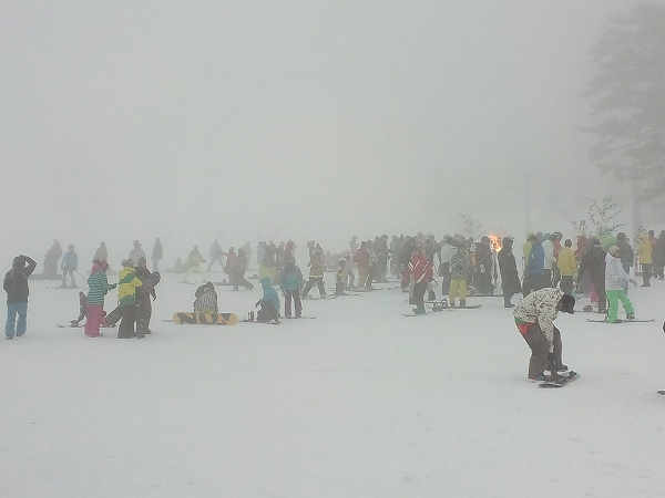 大山スキー場開き