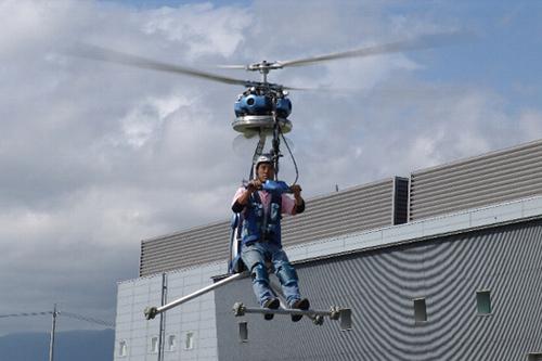 一人乗りヘリコプター
