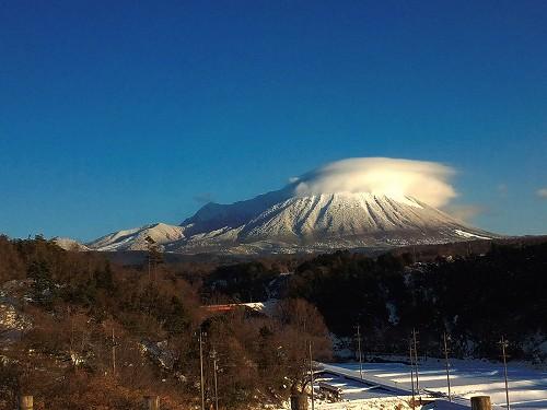どんぐり村から見た大山