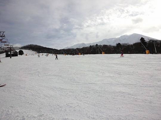 昨年のスキー場開き