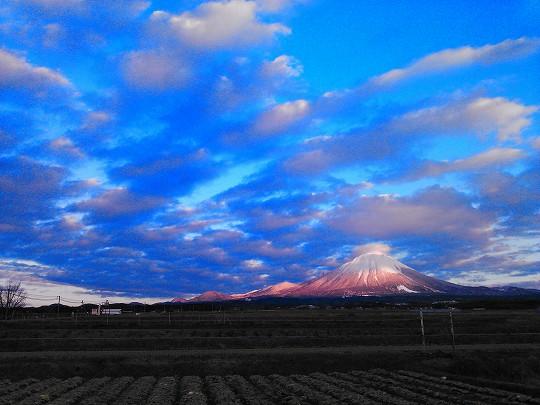 雪化粧しなおした大山