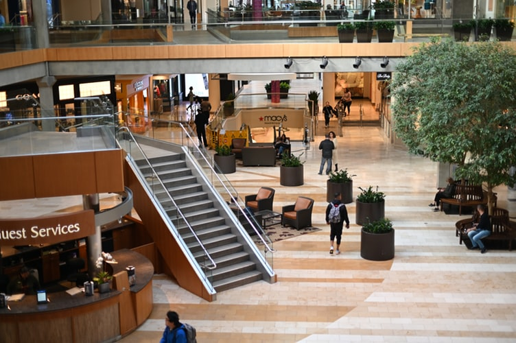 ショッピングモール・ショッピングセンター