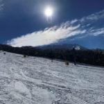 やっと、ようやく初滑り!/大山ホワイトリゾート