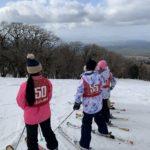 大山小学校のスキー教室に講師として参加しました/2021年一回目