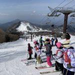 大山小学校のスキー教室に講師として参加しました/2021年二回目