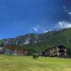 今日の大山はとても空が青かった